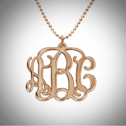 Monogram Cursive Small (Nickel Size)