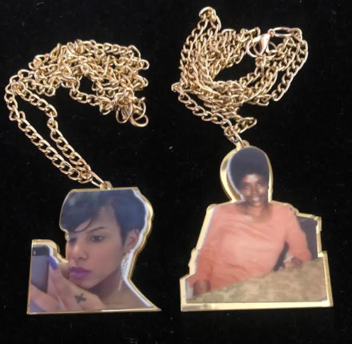 ACRYLIC Picture Me Necklace