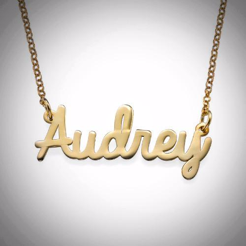 CA $45 Gold Name Plates