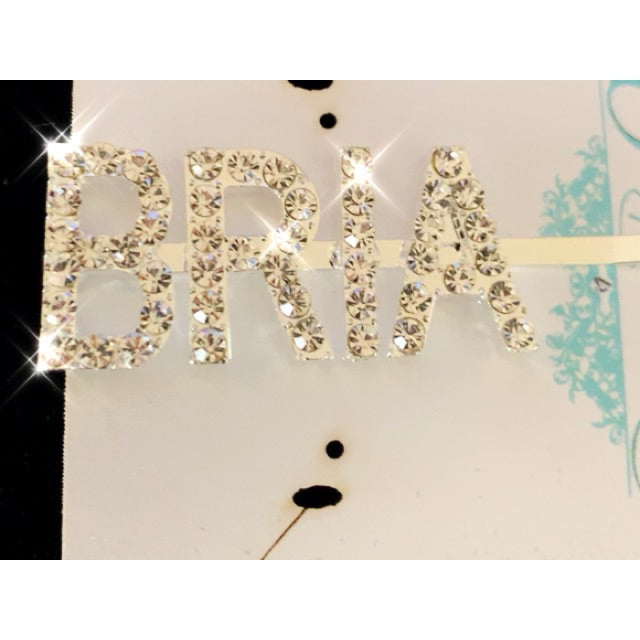 Bling Custom Hair Pin
