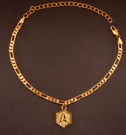 IN STOCK -Hexagon Anklet
