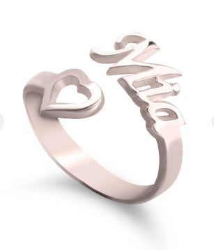 Heart for You Ring
