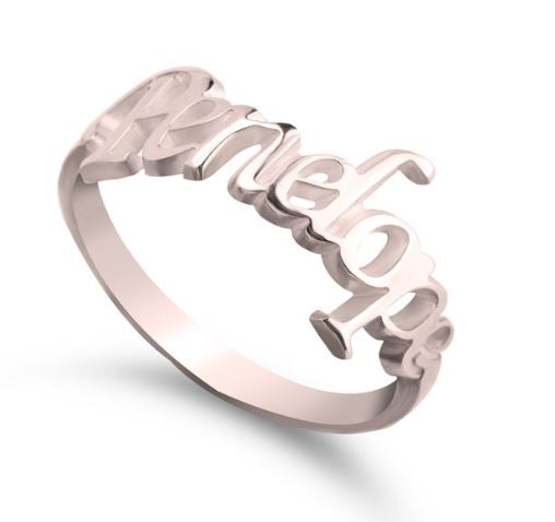 NEW YEAR 21- Name Ring
