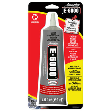 E6000 2 oz Adhesive Tube