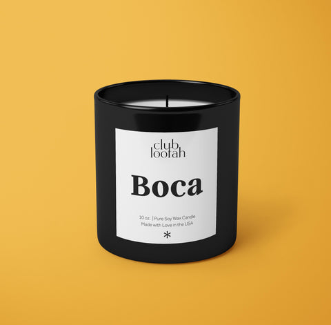 Simply Luxurious The Boca Candle