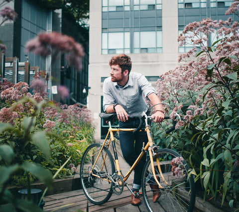 Get moving with a bike ride in a different environment