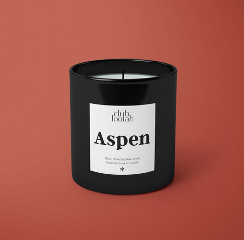 Simply Luxurious Collection: The Aspen Candle