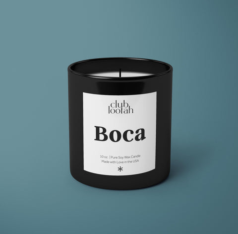 Simply Luxurious Collection: The Boca Candle