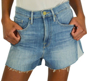 Frame Denim Le Vintage Shorts with Side Triangles - Discounts on Frame Denim at UAL