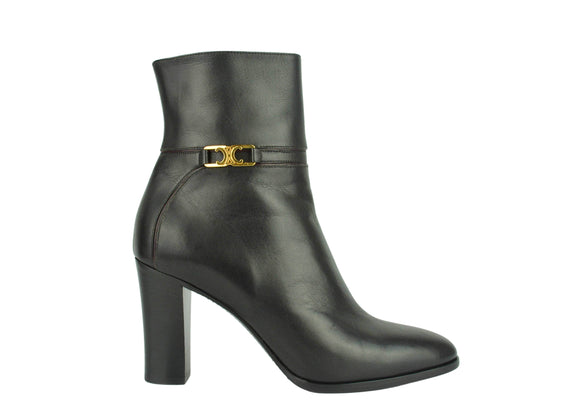 Marni Lace Up Leather Ankle Boots