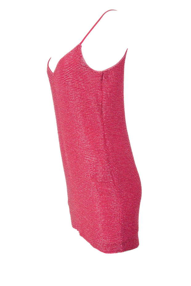 Burberry Printed Sheer Silk Tie Neck Blouse - Discounts on Burberry at UAL