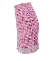 Vetements Tweed & Satin Layered Blazer