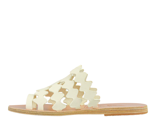 Stella McCartney Cross Strap Espadrille Platform Slide Sandals at UAL