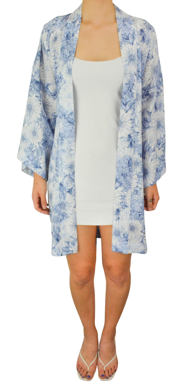Self Portrait Floral Guipure Lace Cape Midi Dress