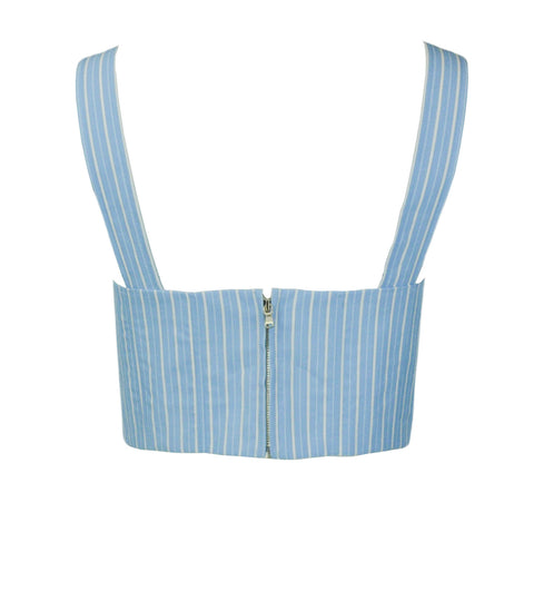 Chloé Metallic Floral Print Sheer Blouse - Discounts on Chloé at UAL