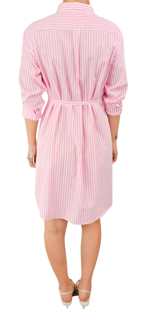 MSGM Pleated Printed Paneled Dress at UAL