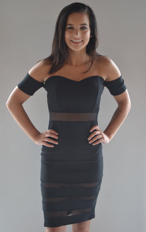 Bodycon Mesh Dress