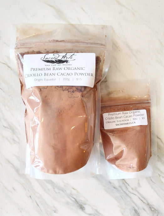 Raw Organic Cacao Powder
