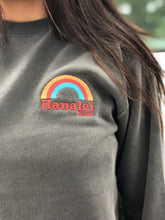 Load image into Gallery viewer, GREY HANALEI RAINBOW SWEATER