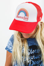Load image into Gallery viewer, WW YOUTH HANALEI RAINBOW TRUCKER HAT