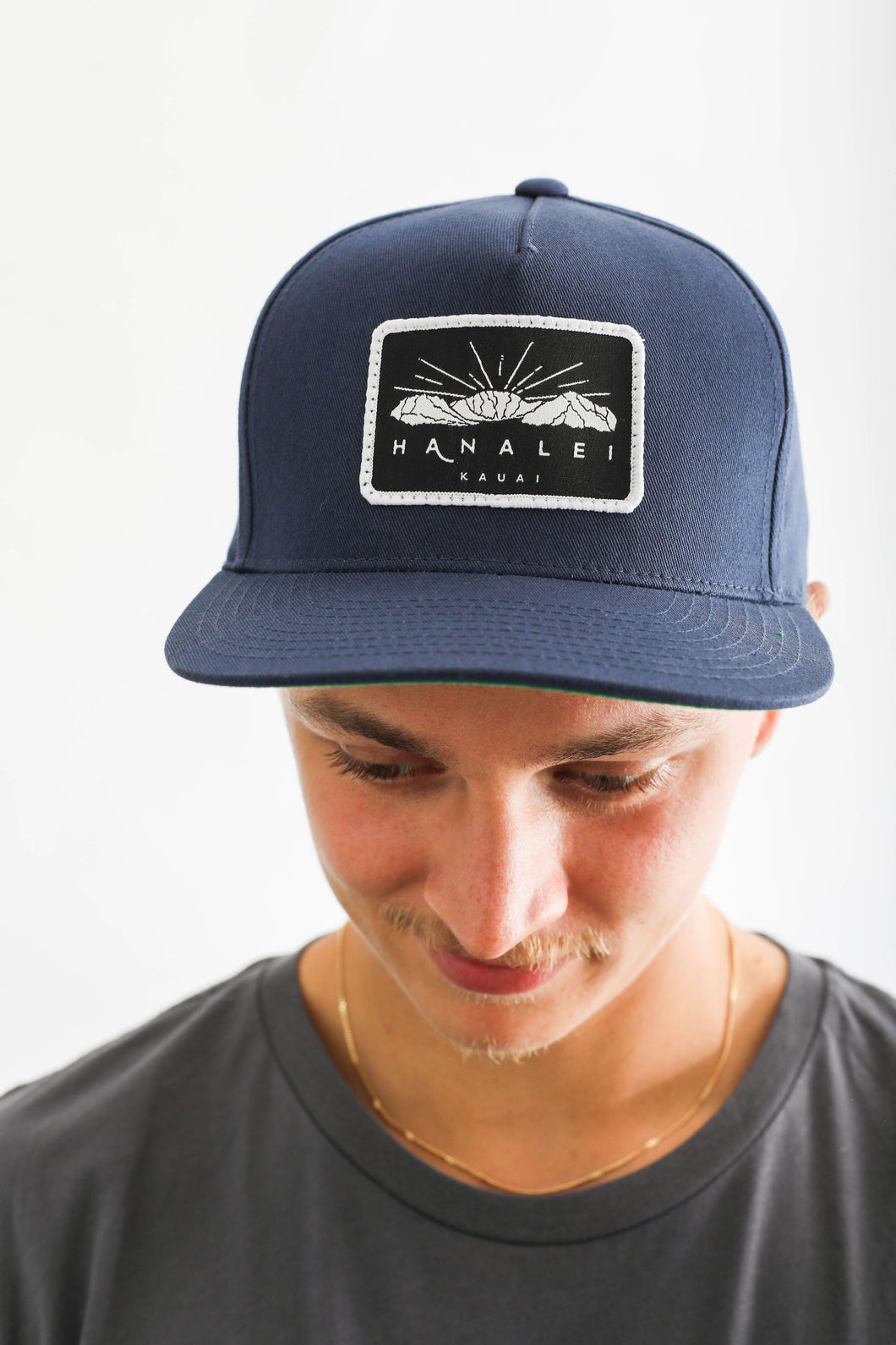 HANALEI MOUNTAIN PATCH SNAPBACK HAT