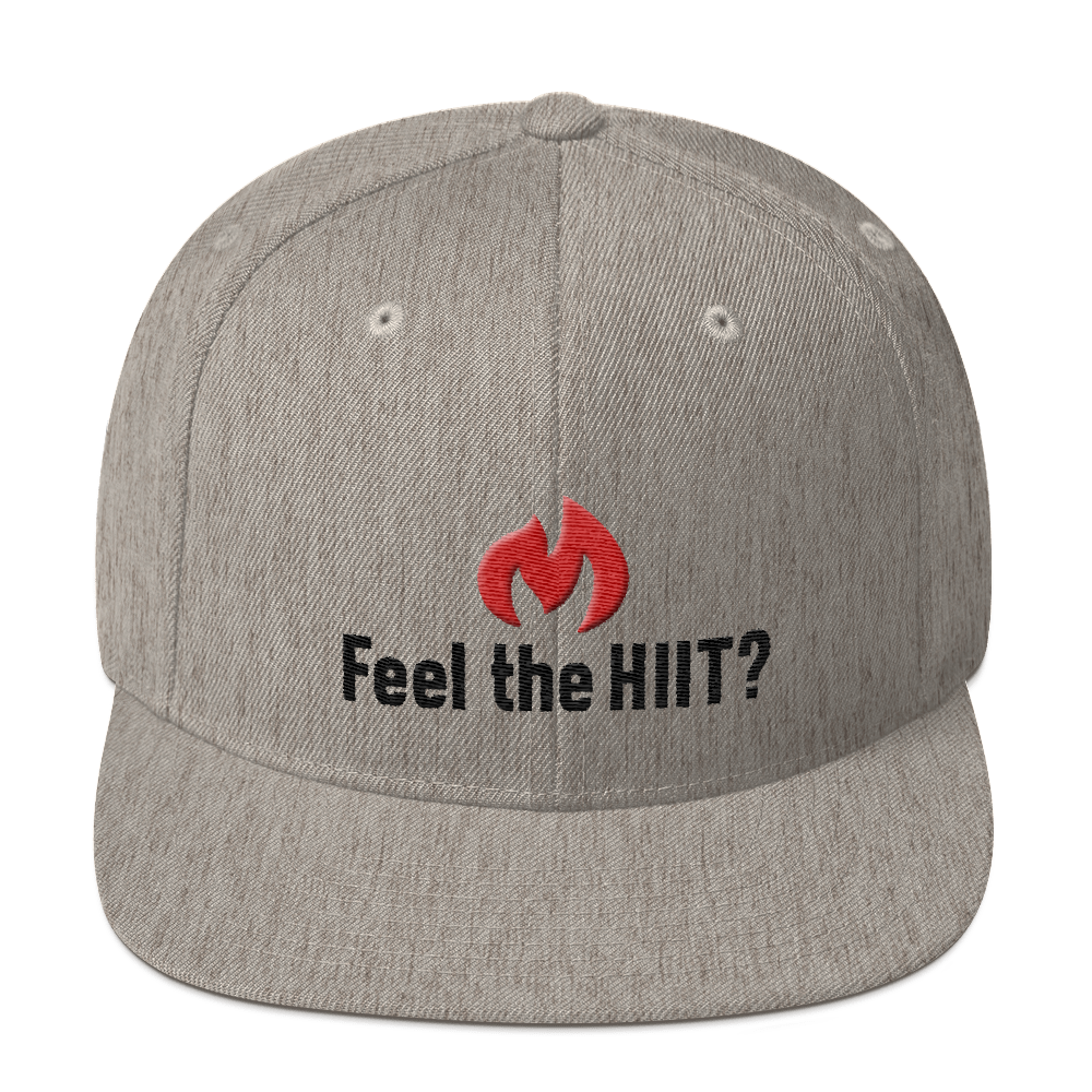 "Put your Swag on with the ""Feel the HIIT"" new snapback hat"