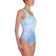 Water and Clouds - One-Piece Swimsuit