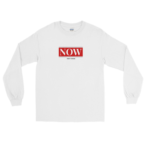 """NOW"" Long Sleeve T-Shirt"