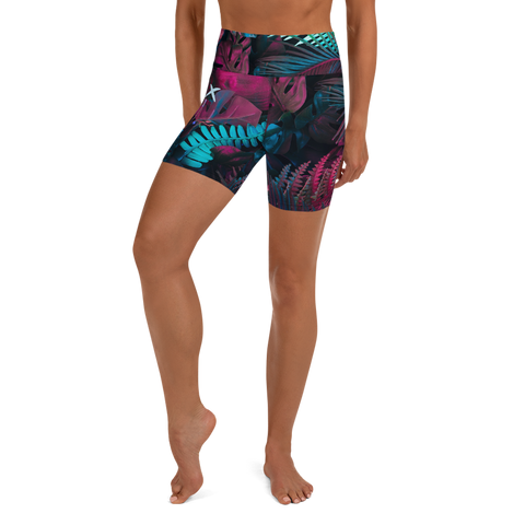 Jungle Yoga Shorts