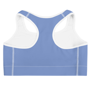 Light Blue Con Calma Sports bra