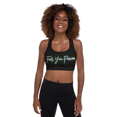 Fuel Your Passion Sports Bra