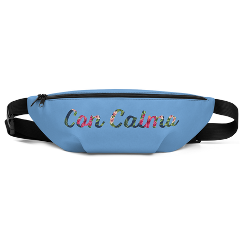 """Con Calma"" Water Blue Fanny Pack"