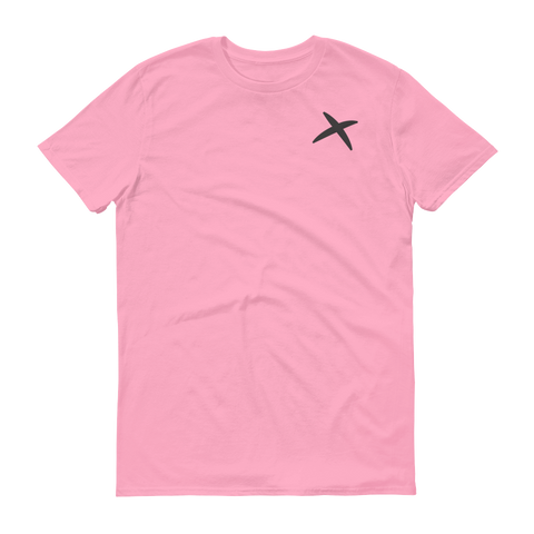 Charity Pink - Ring-spung Cotton Tee