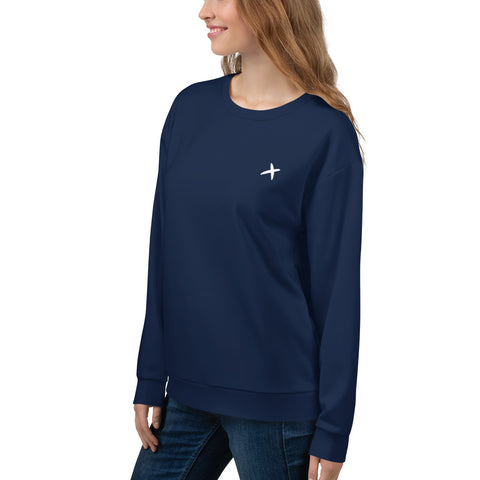 Cross Fleece Sweatshirt