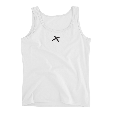100% Pre-shrunk Tank Top - White
