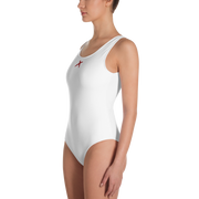 One-Piece Swimsuit - White