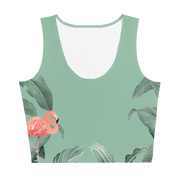 Flamingo Cropped Tank