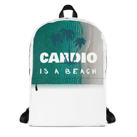 """Cardio is a Beach"" - Backpack"