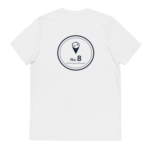 No 8 Organic Cotton T-Shirt