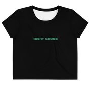 Neon Right Cross Crop Top