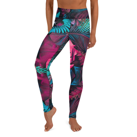 Jungle Yoga Leggings