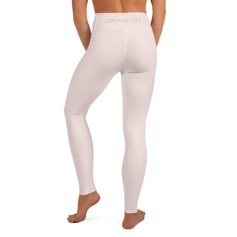 Zen in the City - Light Pink Yoga Leggings
