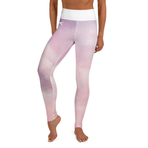 Clouds - High Waist Leggings