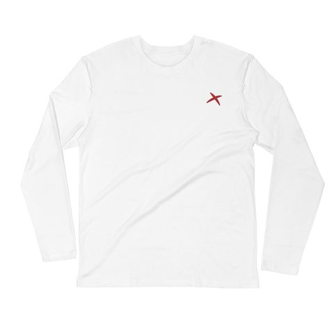 Premium Fitted Long Sleeve- White