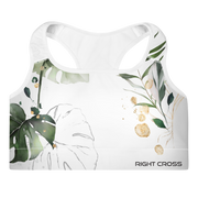 White Jungle Sports Bra
