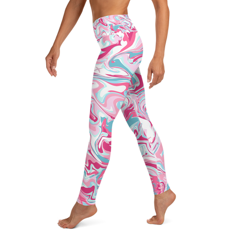 Vape Bubblegum - Yoga Leggings