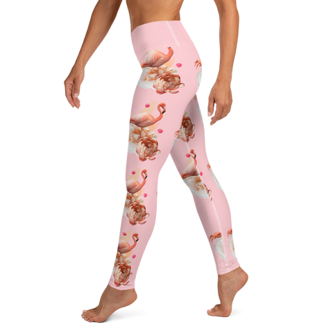 Lummus Flamingos - Yoga Leggings