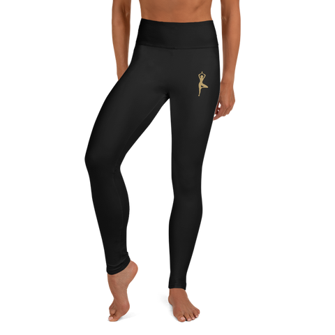 Zen in the CITY - Black Yoga Leggings