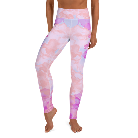 Watercolor Candy Leggings