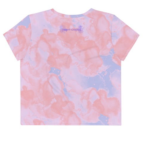Watercolor Candy Crop Tee